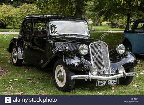 Classic Citroen by Classic Car Citroen Traction Avent Stock Photo Royalty