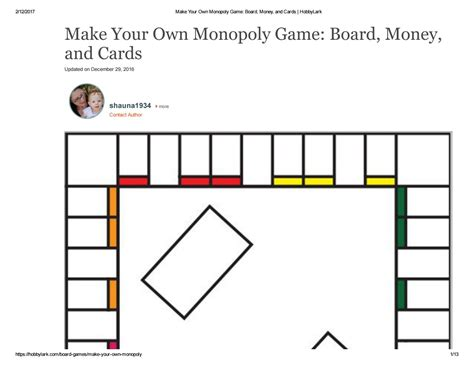 Monopoly Board Money And Cards By Issuu