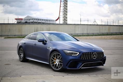 Mercedes Gt Coupe by 2019 Mercedes Amg Gt 4 Door Coupe Drive Pictures