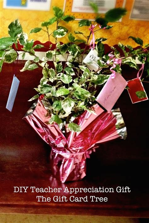 how to make a gift card tree 3 worthy diy appreciation gifts