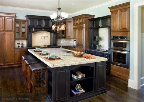 granite kitchen islands atlanta granite kitchen countertops precision stoneworks