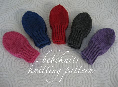 how to knit toddler mittens bebeknits thumbless toddler mittens knitting pattern