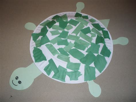 turtle paper craft paper plate turtle craft paper crafts
