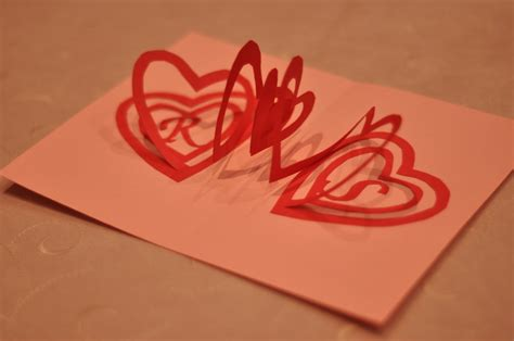 how to make a valentines pop up card spiral pop up card template images frompo