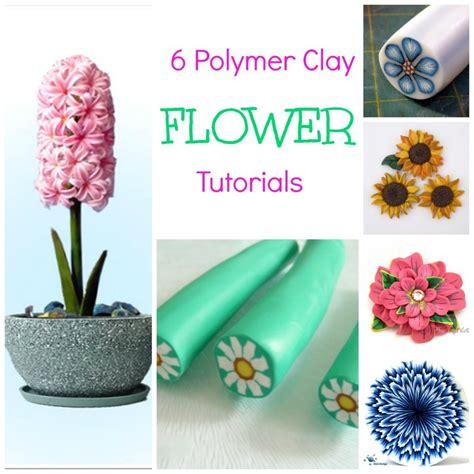 polymer clay tutorial 6 polymer clay flower tutorials polymer clay