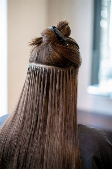 pros and cons of beaded hair extensions 25 best ideas about fusion hair extensions on