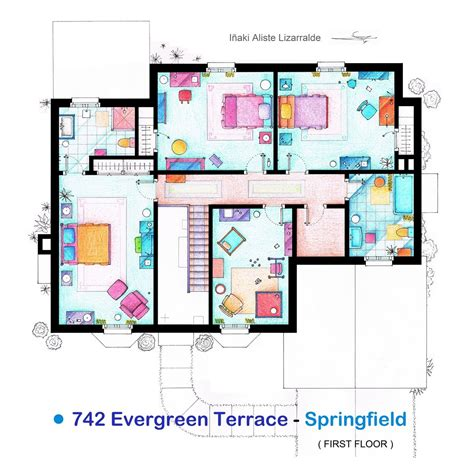 floor plans of tv show houses from friends to frasier 13 tv shows rendered in