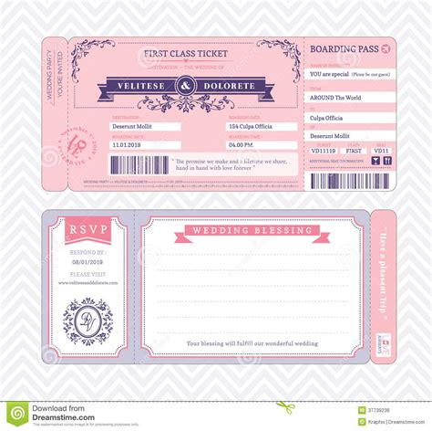boarding pass wedding clipart panda free clipart images