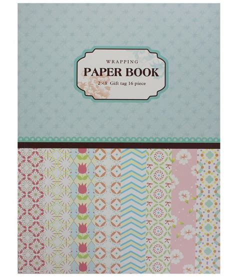 craft paper wrapping tootpado wrapping craft paper book for gift wrapping and