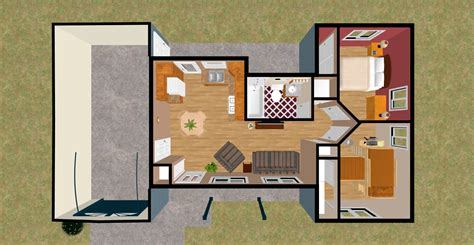 tiny house 2 bedroom cozy home plans part 2