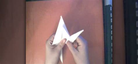 computer paper origami how to make an origami crane from a sheet of printer paper