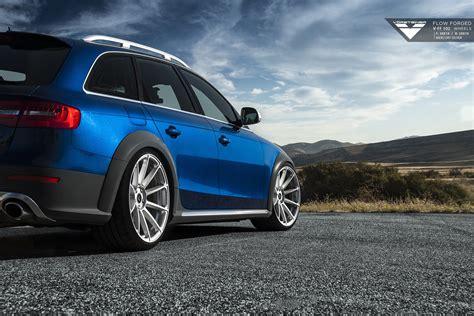 Audi Allroad Rims by Audi Allroad On Vorsteiner V Ff 102 Flow Forged Wheels