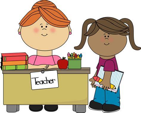 my school desk student at teachers desk clip student at teachers