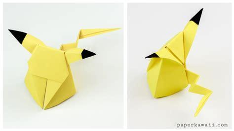 where can i get origami paper origami pikachu tutorial origami paper