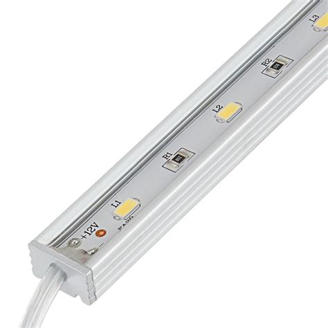led light connectors waterproof linear led light bar fixture w dc barrel