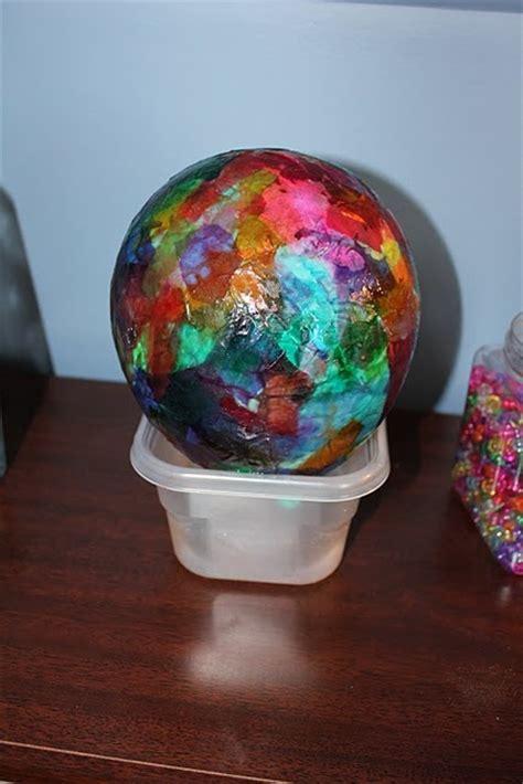 paper mache balloon crafts tissue paper crafts for teaching preschool days