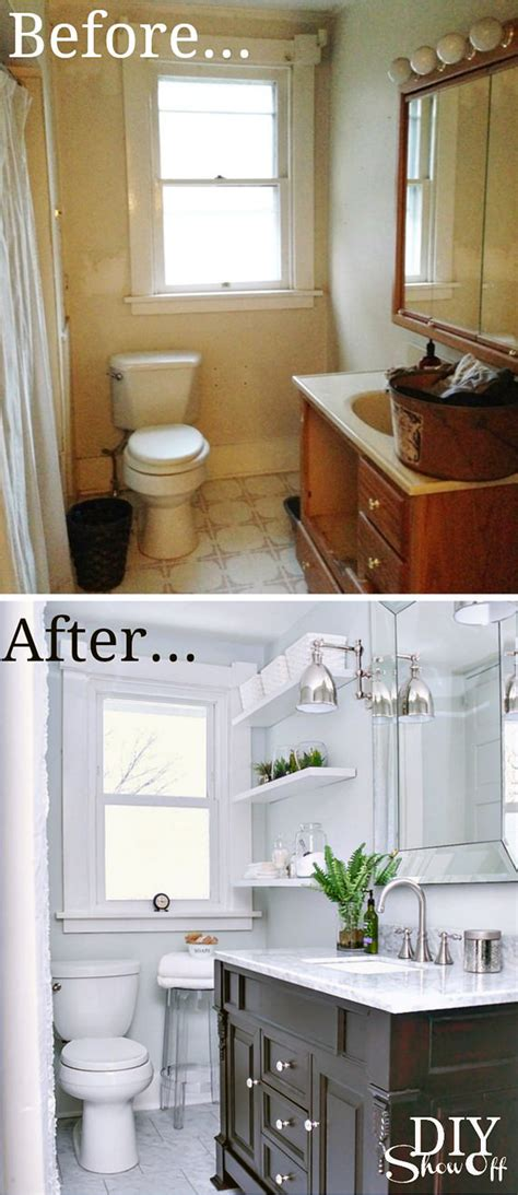half bath update home stories tiny bath makeovers decorating your small space