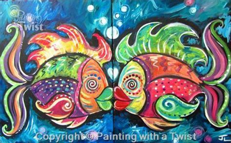 paint with a twist couples painting with a twist new business comes to the arts
