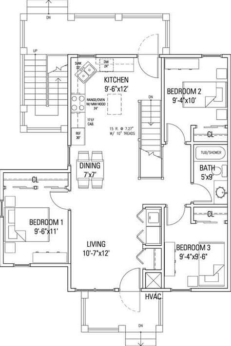 flat floor plans delaware commons cohousing 3br flat floor plan