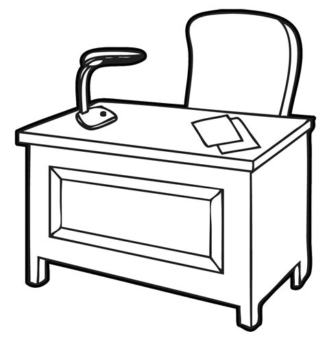 free office desks home office clipart an office desk throughout office desk