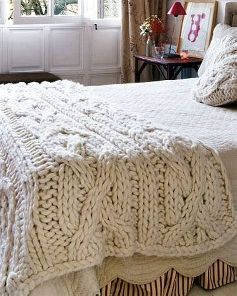 cable knit sweater blanket chunky cable knit blanket a place to rest