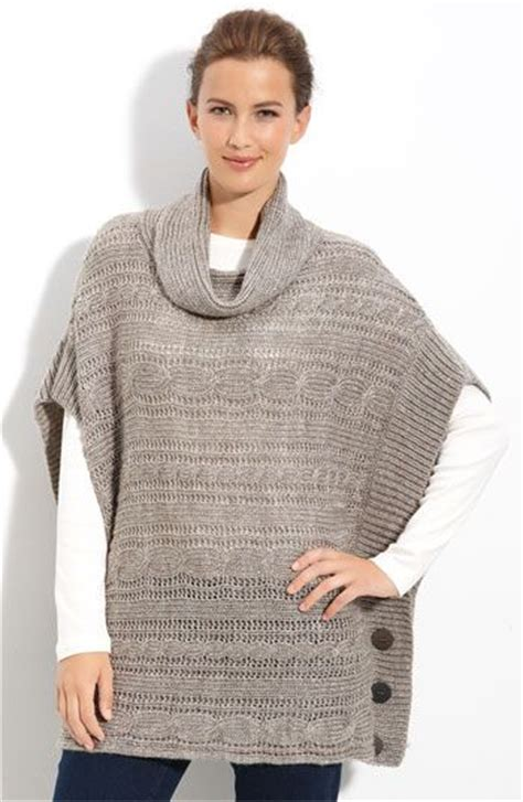 knitted ponchos the world s catalog of ideas