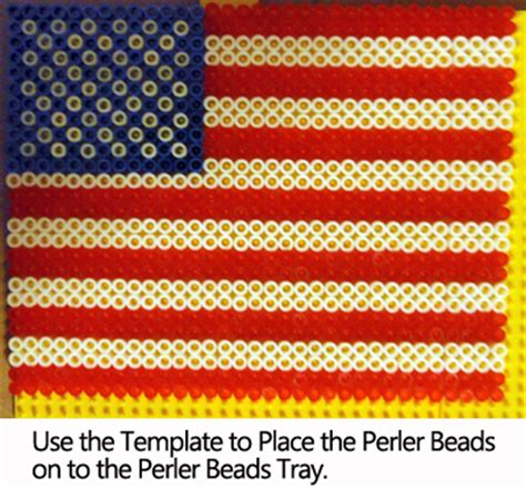 a better place to bead how to make a perler bead american flag for veterans day