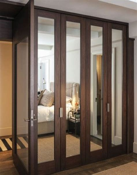 closet doors with mirrors 20 mirror closet and wardrobe doors ideas shelterness