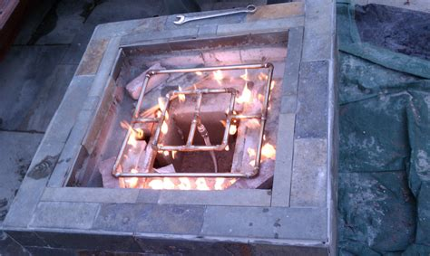 diy glass pit diy gas pit fireplace design ideas