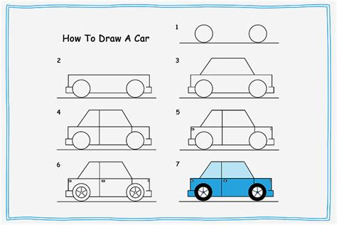 how to draw a car 8 steps with pictures wikihow how to draw a car for 2 easy tutorials