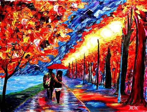 This Blind Painter Creates Colorful Masterpieces Using