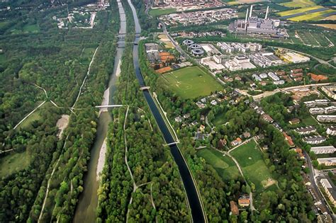 Englischer Garten München Hirschau by M 252 Nchen Und Umgebung Oben Aus Dem Zeppelin 2