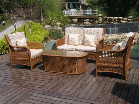 rattan wicker patio furniture rattan patio furniture set icamblog