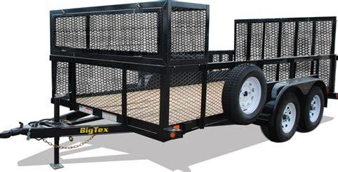 landscape lighting exles big tex 70lr tandem axle landscape trailer trailers for sale