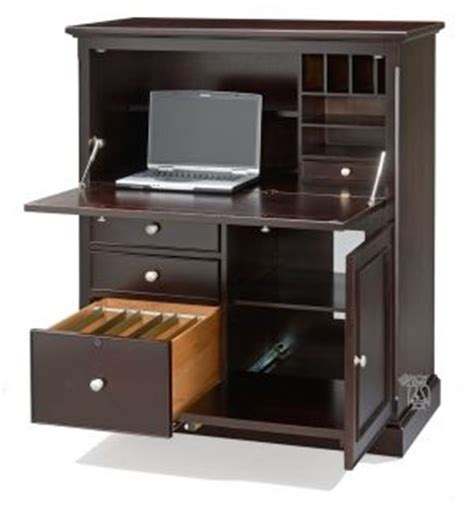 compact computer armoire metro office compact computer armoire desk in expresso