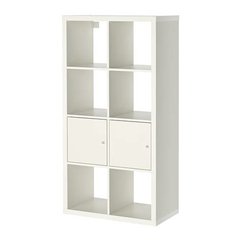 shelving unit with doors kallax shelving unit with doors white 30 3 8x57 7 8