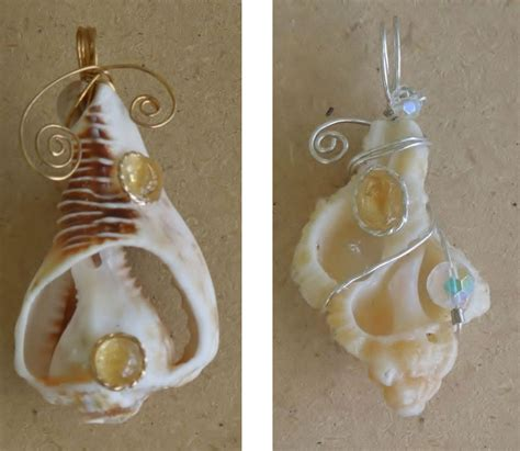 how to make jewelry from shells conch cowry and other shells been used in