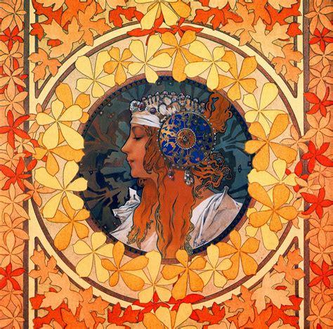 Mucha Artwork beautiful paintings alfons mucha 1897