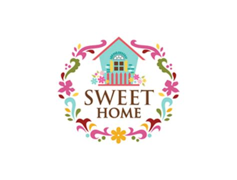 sweet home sweet home logo design 48hourslogo