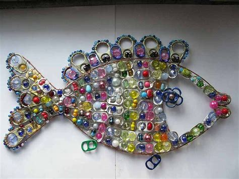 pop tab crafts projects recycle soda tabs crochet ideas make handmade crochet