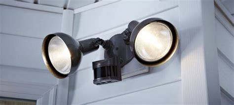 motion lights install a motion detector