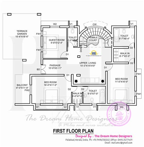 house designs and floor plans house plan with elevation kerala home design and floor plans