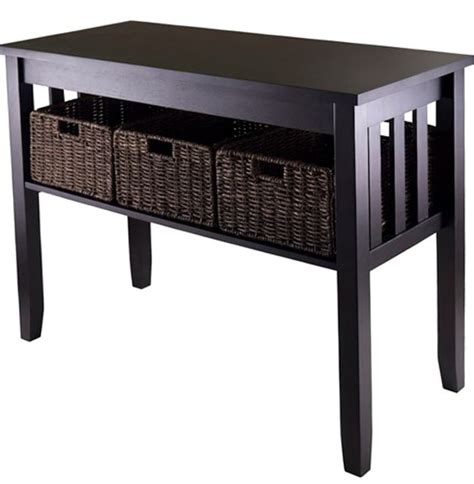 black sofa tables sofa contemporary black sofa table tables furniture