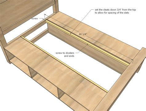 woodworking plans beds storage bed woodworking plans woodshop plans