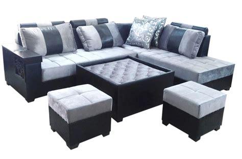 l shaped sofa table lambert l shape sofa set center table and 2