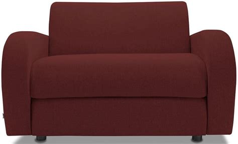 be retro berry sofa bed chair with sprung