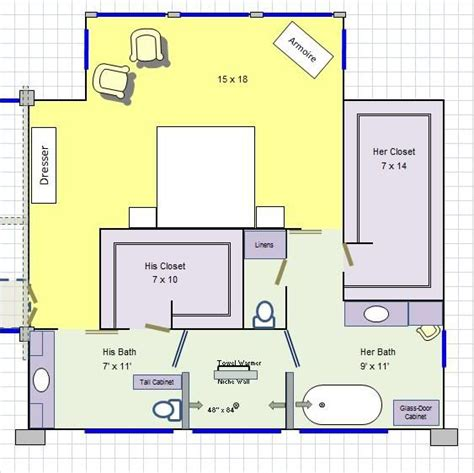 his and bathroom floor plans his master bathroom floor plan it for the