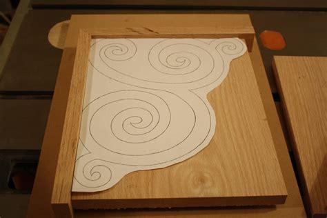 scroll woodwork inside mokajade embrace scroll shelf brackets part2