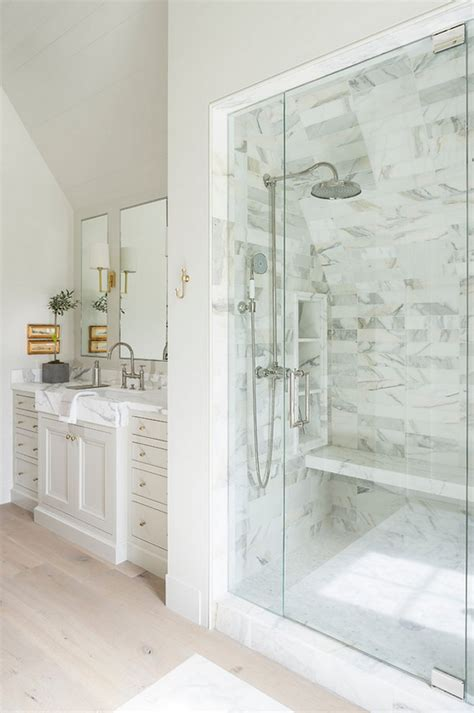 Neutral Colored Bathrooms by Family Home With Timeless Interiors Home Bunch Interior