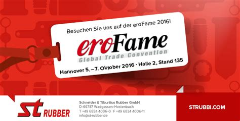 rubber st press st rubber at erofame 2016 ean industry news